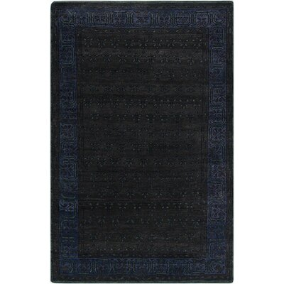 Blair Charcoal Oriental Area Rug Rug Size: Rectangle 56 x 86