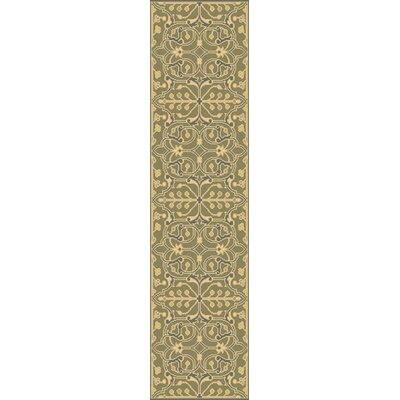 Fernald Olive Area Rug Rug Size: Runner 26 x 8