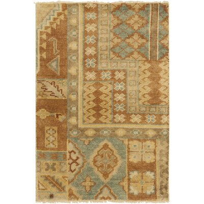 Fernald Gold Area Rug Rug Size: Rectangle 2 x 3