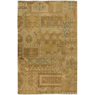Bissell Gold Area Rug Rug Size: 56 x 86