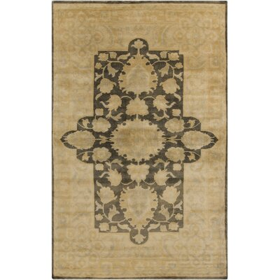 Fernald Beige Area Rug Rug Size: Rectangle 56 x 86