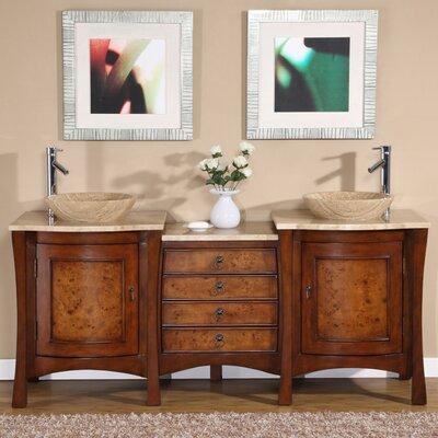 Gilbert 72 Double Bathroom Vanity Set
