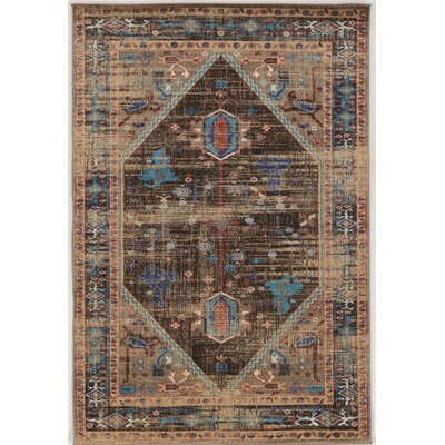 Shelie Heriz Brown Area Rug Rug Size: Rectangle 2 x 3