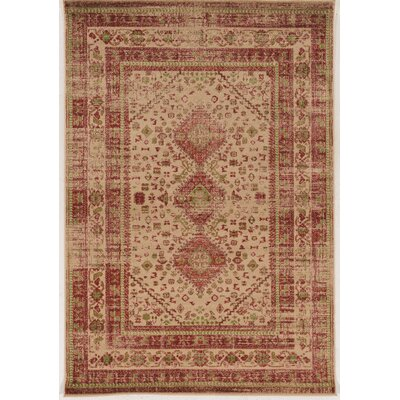 Shelie Goravan Beige Area Rug Rug Size: Rectangle 2 x 3