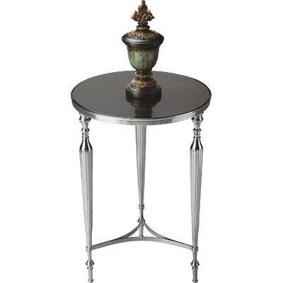 Izayah End Table Finish: Nickel