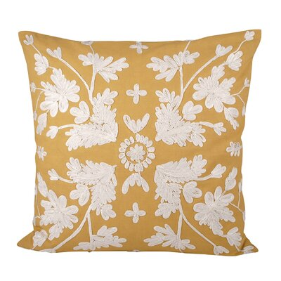 Borderdale Cotton Throw Pillow