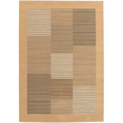 Judlaph Sahara Tan Area Rug Rug Size: 53 x 76
