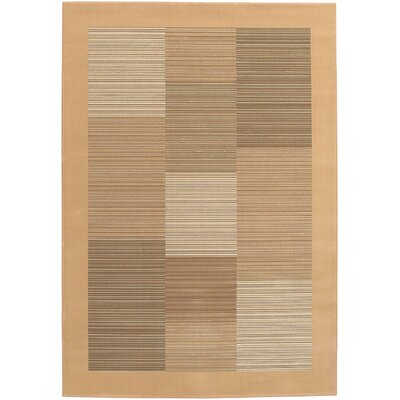 Judlaph Sahara Tan Area Rug Rug Size: Rectangle 710 x 112