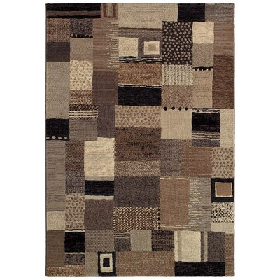 Gene Ivory Rug Rug Size: 53 x 76