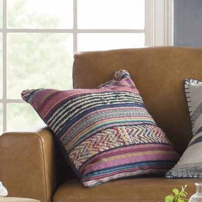 Cammi Cotton Throw Pillow Fill Type: Down
