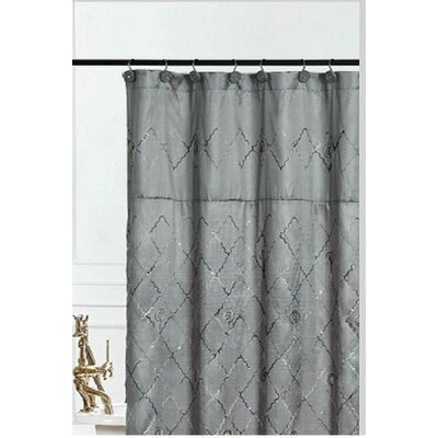 Bothwell Shower Curtain Color: Grey