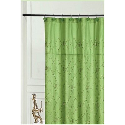 Bothwell Shower Curtain Color: Green