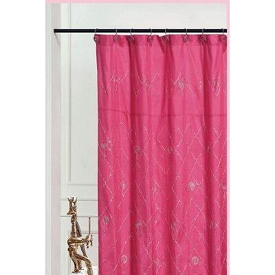 Bothwell Shower Curtain Color: Pink