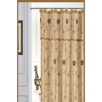 Bothwell Shower Curtain Color: Gold