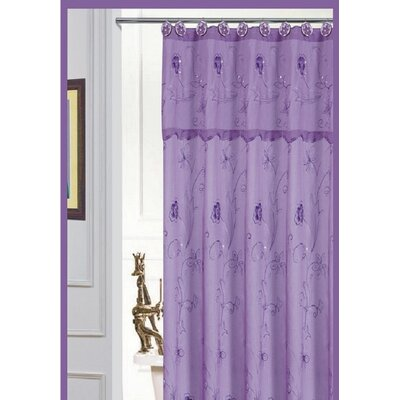 Bothwell Shower Curtain Color: Purple