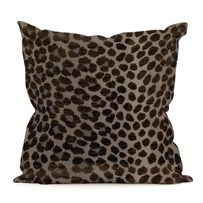 Leandro Throw Pillow Color: Pewter