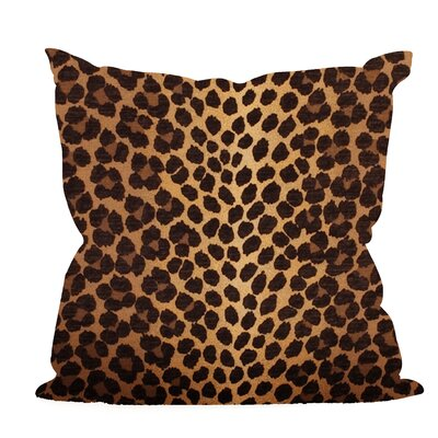 Leandro Throw Pillow Color: Gold