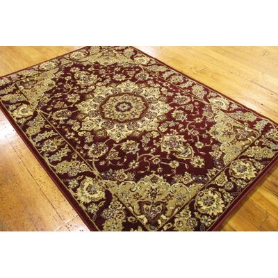 Wyatt Burgundy Area Rug