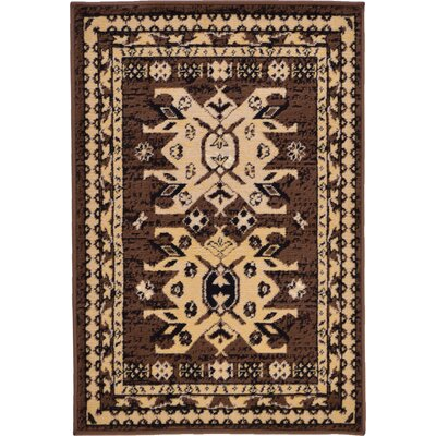 Valley Brown Area Rug Rug Size: Rectangle 2'2
