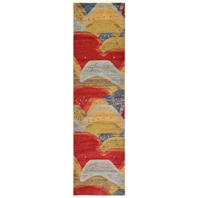 Jan Abstract Area Rug Rug Size: Runner 27 x 10