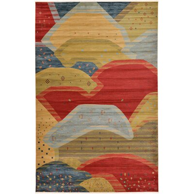 Jan Abstract Area Rug Rug Size: Rectangle 106 x 165