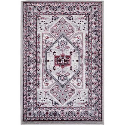 Valley Light Gray Area Rug Rug Size: Rectangle 2'2