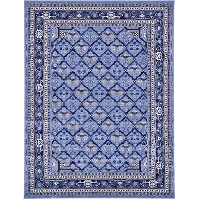 Katiranoma Blue Area Rug Rug Size: 9 x 12