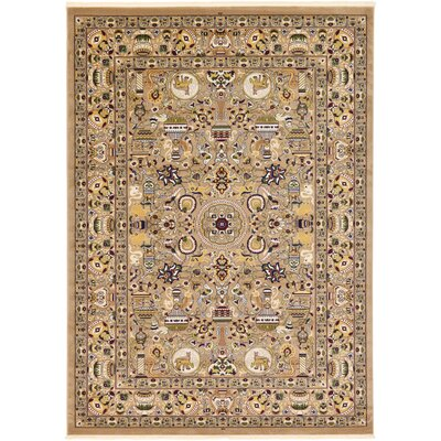 Altadena Light Brown Area Rug Rug Size: 82 x 11 6
