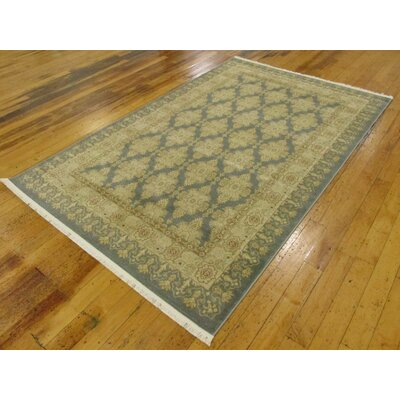 Jamar Blue Area Rug Rug Size: Rectangle 5 x 8