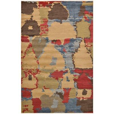 Jan Light Brown Area Rug Rug Size: 106 x 165