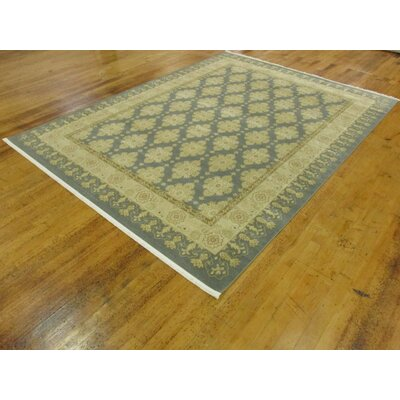 Britley Blue Area Rug Rug Size: Rectangle 9 x 12