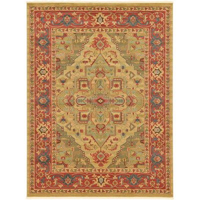 Zoey Light Brown Area Rug Rug Size: 9 x 12