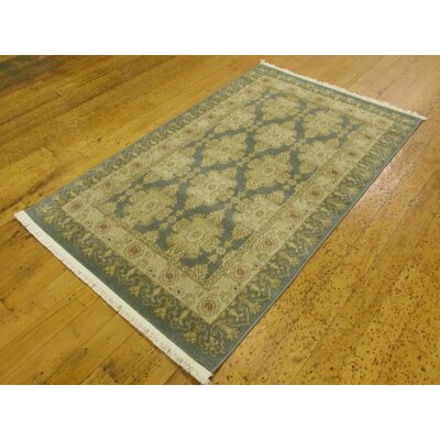Jamar Blue Area Rug Rug Size: Rectangle 33 x 53