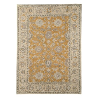 Angela Hand-Tufted Tan/Beige Area Rug Rug Size: 8 x 10