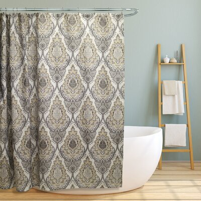 Rylance Floral Damask Shower Curtain