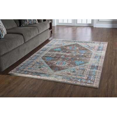 Shelie Heriz Brown Area Rug Rug Size: 2 x 3