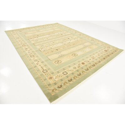 Foret Noire Light Green Area Rug Rug Size: Rectangle 8'11