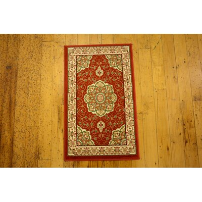 Wyatt Red Area Rug