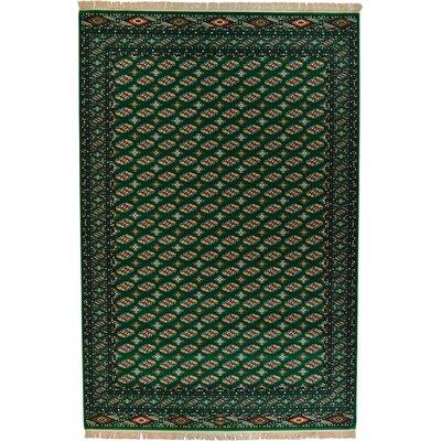 Ivette Green Area Rug Rug Size: 75 x 102