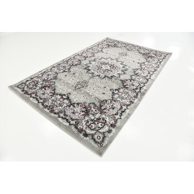 Wyatt Gray Area Rug Rug Size: Rectangle 5 x 8