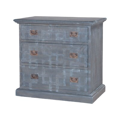 Arcene 3 Drawer Nightstand