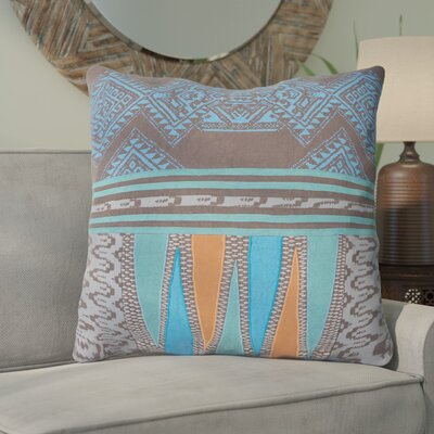 Schmitt Cotton Throw Pillow Color: Blue