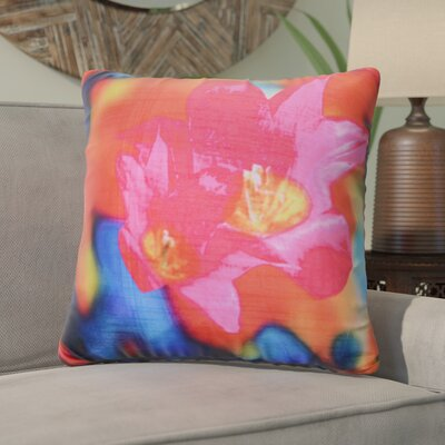 Kitchenaid Digital Print Throw Pillow Color: Pink/Orange