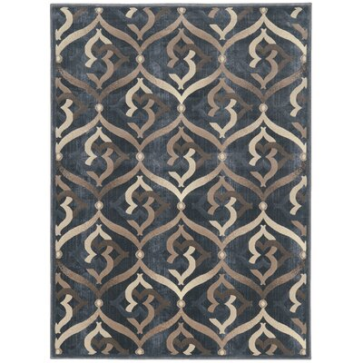 Fulop Gray Area Rug Rug Size: Rectangle 53 x 73