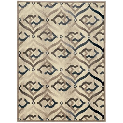 Fulop Bone Area Rug Rug Size: Rectangle 53 x 73