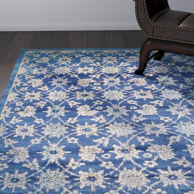 Geleen Blue Area Rug Rug Size: Rectangle 5 x 8
