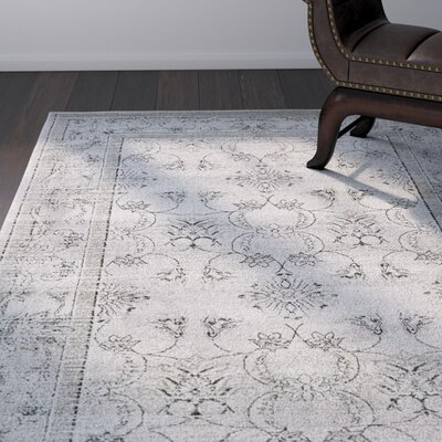 Shailene Gray Area Rug Rug Size: Rectangle 5 x 8