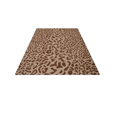 Boyer Hand-Tufted Wool Camel/Brown Area Rug Rug Size: Rectangle 9 x 12
