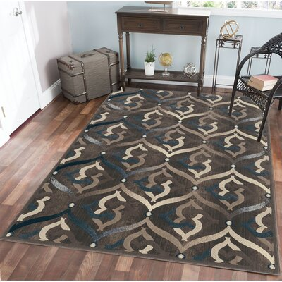 Fulop Brown Area Rug Rug Size: Rectangle 710 x 106