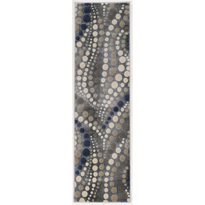 Fulop Gray Abstract Area Rug Rug Size: Runner 22 x 77